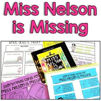 Miss Nelson Is Missing Worksheets | Teachers Pay Teachers