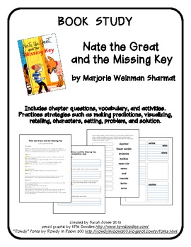 Book Study: Nate the Great and the Missing Key by Marjorie Weinman Sharmat