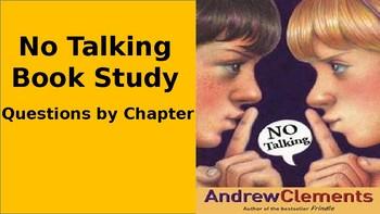 Book Study: No Talking