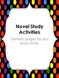 Book Study Pages