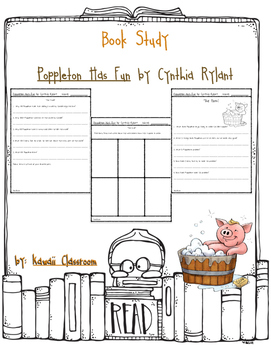 Poppleton Has Fun: Comprehension Questions {Level J}