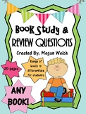 Book Study Questions