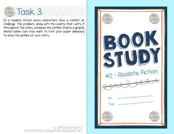 Book Study - Realistic Fiction