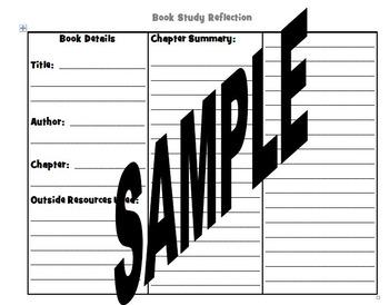 Book Study Reflection
