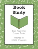 Book Study Report Primary Grades