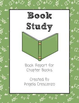 Book Study Report Primary Grades