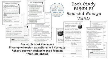Book Study BUNDLE Sam the Minuteman and George the Drummer Boy