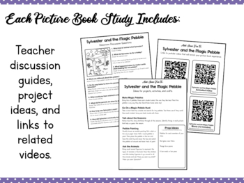Book Study Sylvester And The Magic Pebble By Simply Schoolgirl Tpt