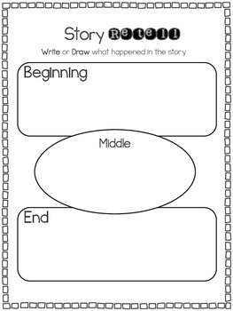 Book Study Template for any book or story