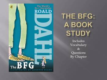 Book Study: The BFG
