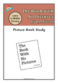 Book Study - The Book With No Pictures by B. J. Novak