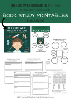 Book Study: The Girl Who Thought in Pictures (The Story of Temple Grandin)