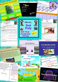 Book Study: The Last Tree Entire Program and Smart Notebook Bundle