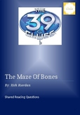 Book Study - 'The Maze of Bones' 39 Clues