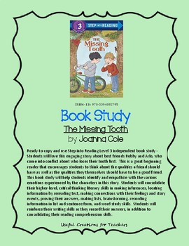 Book Study - The Missing Tooth by Joanna Cole