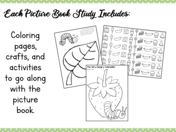 Book Study: The Very Hungry Caterpillar