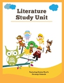 Reading Comprehension and Word Study Worksheets {Literature Book Study}