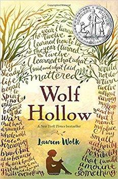 Battle of the Books / Novel Study: WOLF HOLLOW by Lauren Wolk