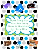 """Book Study for """"Horible Harry Goes to the Moon"""" By Suzy Kline"""