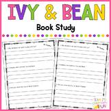 Ivy + Bean - Book Study