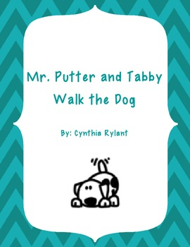 Book Study for Mr. Putter and Tabby Walk the Dog