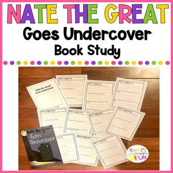 Nate the Great Goes Undercover - Book Study