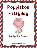 Book Study for Poppleton Everyday by Cynthia Rylant