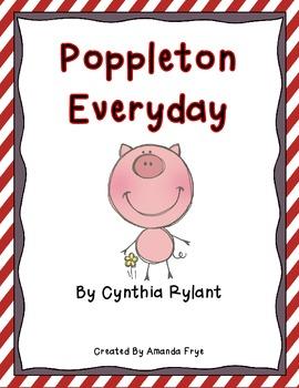 Book Study for Poppleton Everyday by Cynthia Rylant