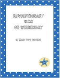 Book Study of Revolutionary War on Wednesday by Mary Pope Osborne
