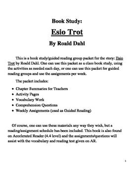 Book Study on Esio Trot