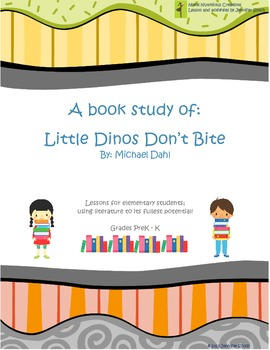 Book Study on Manners - Little Dinos Don't Bite
