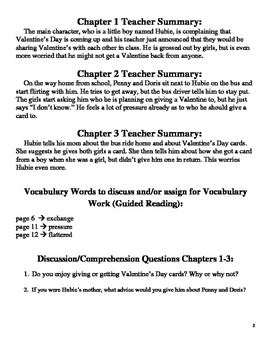 Book Study on Valentine's Day from the Black Lagoon