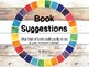 Book Suggestions Bin for Classroom Library