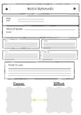 Book Summary Worksheet