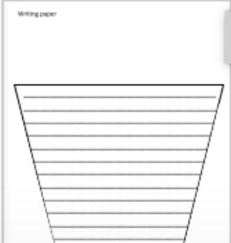 Book Summary Writing Craftivity