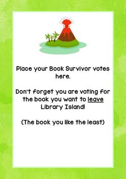 Book Survivor Activity