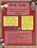 Book Swap: Author Study Guided Reading Unit ELA Common Core Aligned