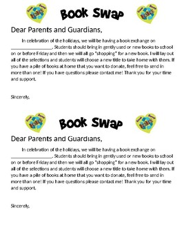 Book Swap Letter