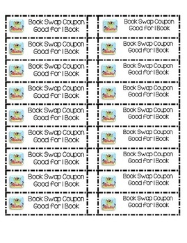 Book Swap Planning Packet:  Grades K-5 (Summer Reading Version)