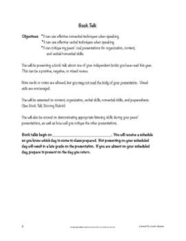Book Talk; Secondary ELA