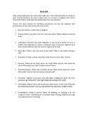 Novel Study/Book Review