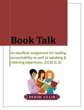 Book Report - Let's give a Book Talk