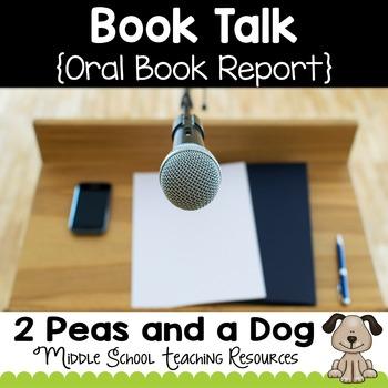 Book Talk Book Report Assignment