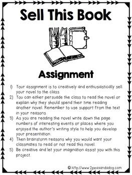 Book Talk Assignment