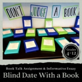 Book Talk Assignment (informative essay/presentation)