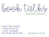 Book Talk - Book Report
