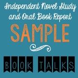 Sample Book Talk (Oral Book Report Presentation)