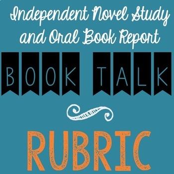 Book Talk / Book Report Presentation RUBRIC