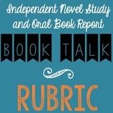 Book Talk / Oral Book Report Presentation RUBRIC
