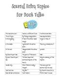 Book Talk Bundle
